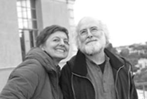 Judit Faller y Andrés Cienfuegos